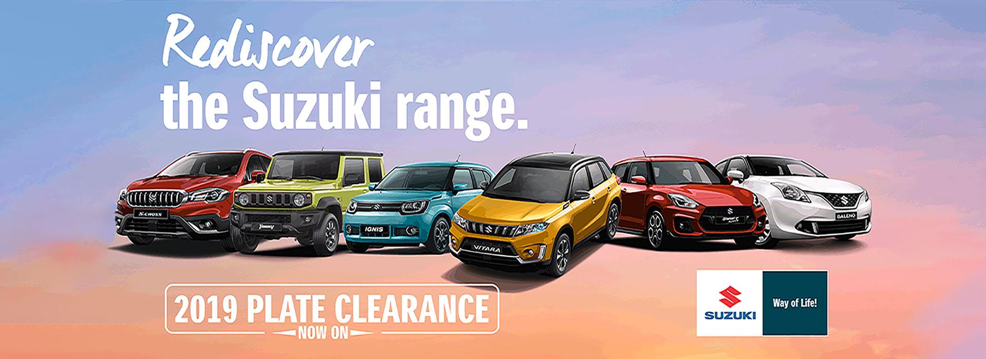 Suzuki QLD - 2019 Plate Clearance