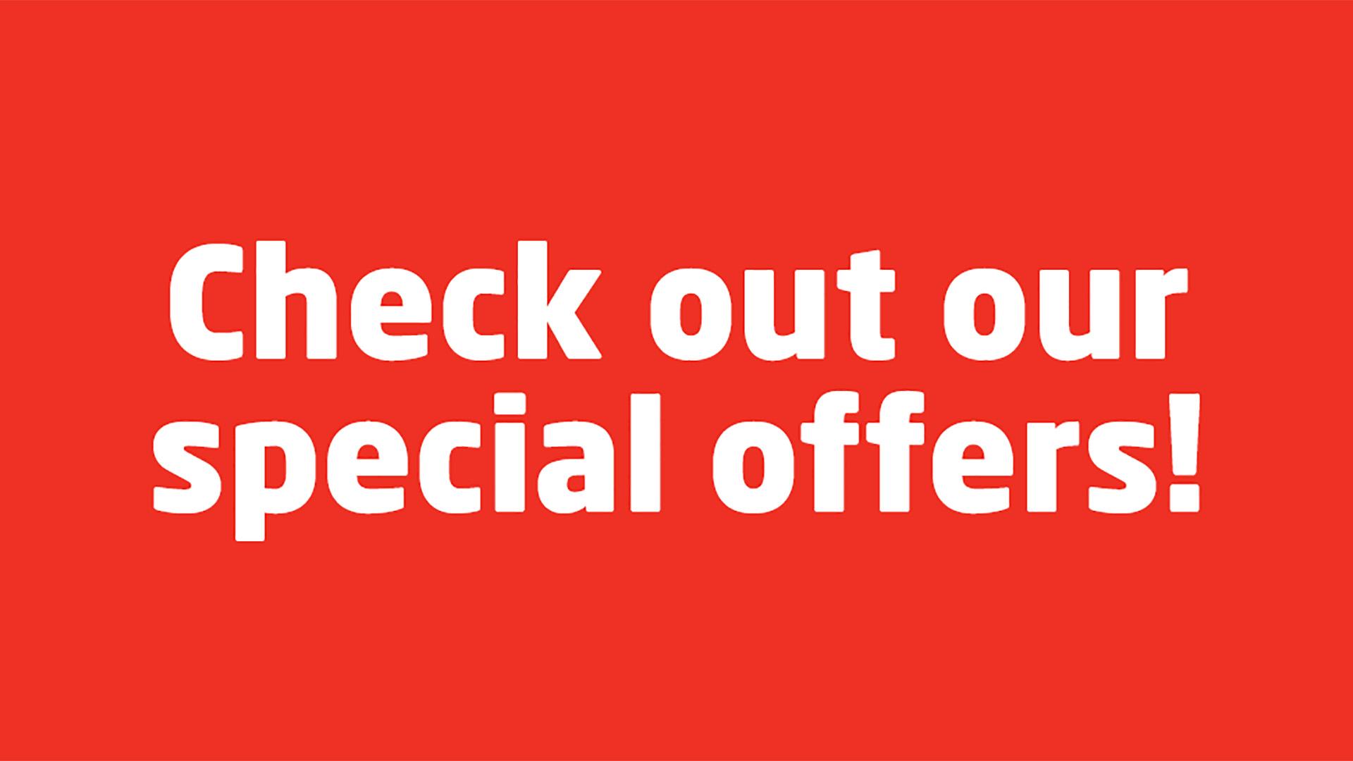 Central Isuzu Special Offers