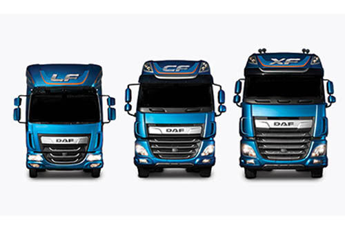 DAF New Model Range