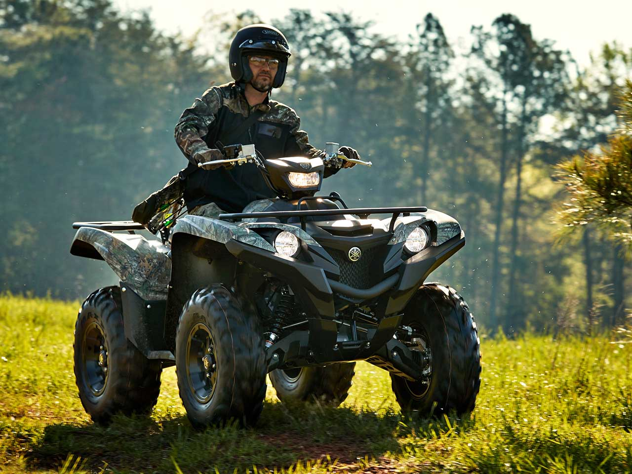 2020 Yamaha Grizzly 700 Camo Gallery 3