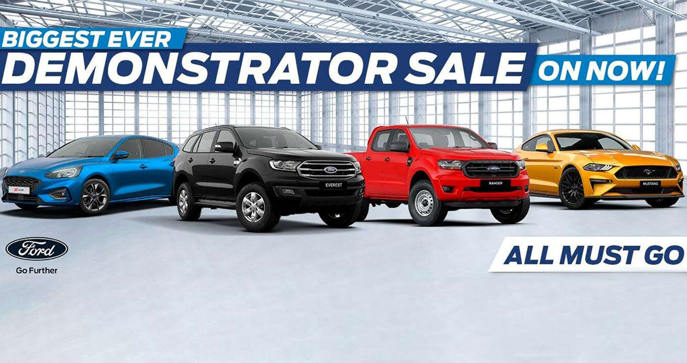 Mackay City Ford Demo Sale