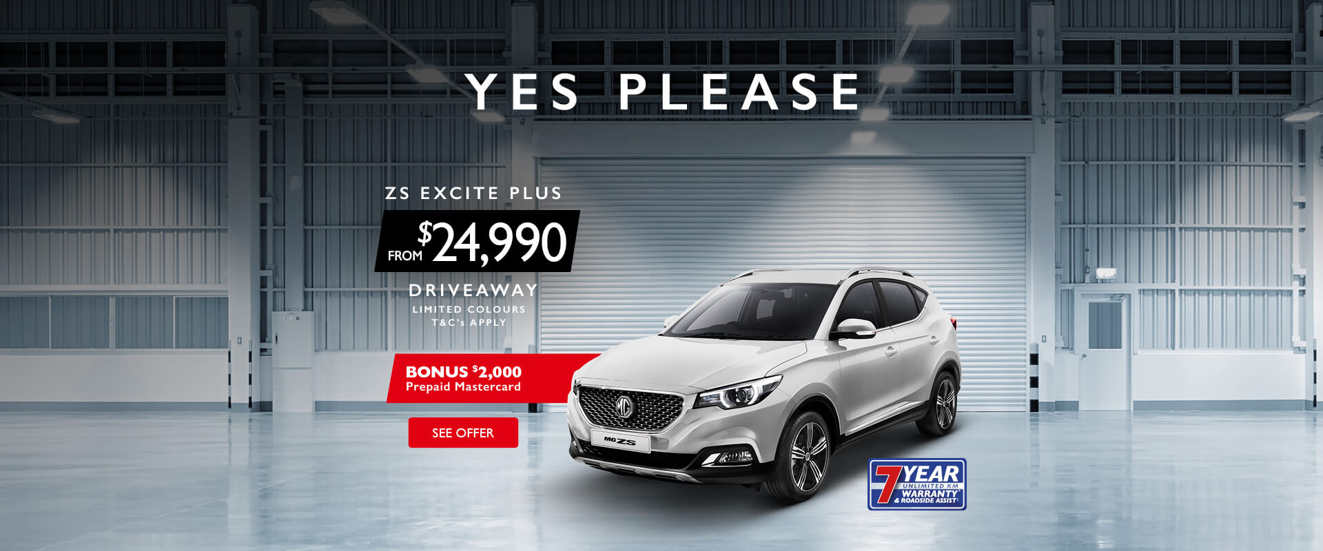 MG - MG ZS Excite Plus