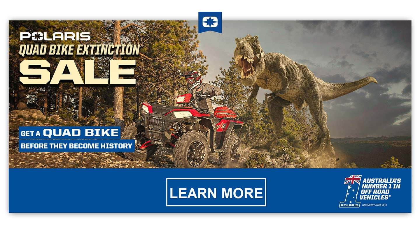 Polaris Quad Bike Extinction Sale