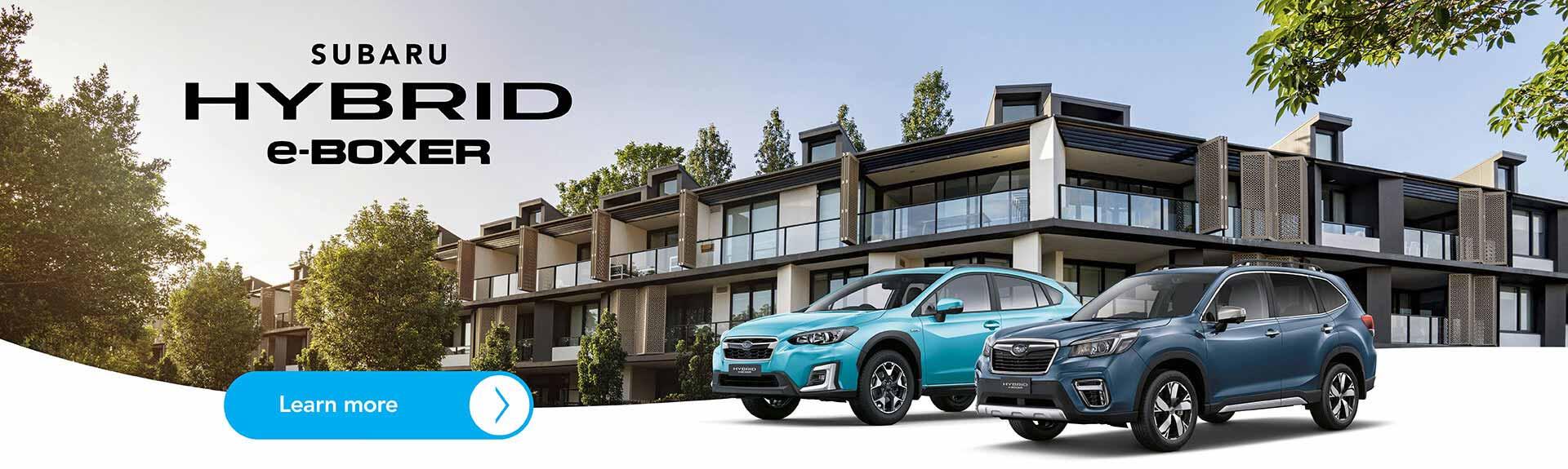 Subaru Hybrid Forester & XV