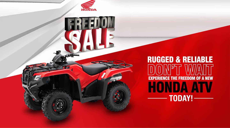 Leongatha Honda Freedom Sale