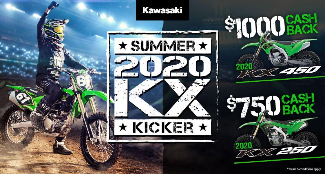 Kawasaki 2020 KX Kicker