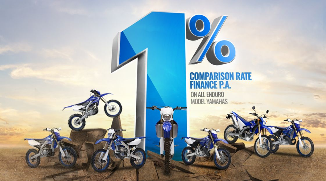 YAMAHA - 1% Finance Enduro