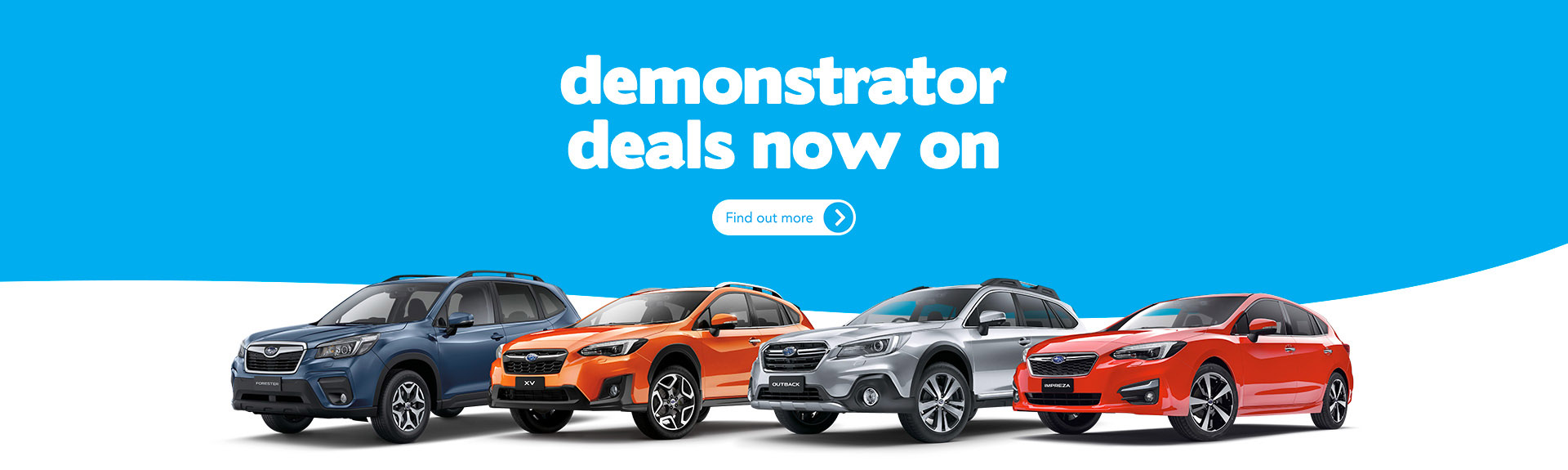 Subaru Demonstrator Deals Now On