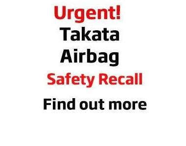 Urgent Takata Airbag Recall