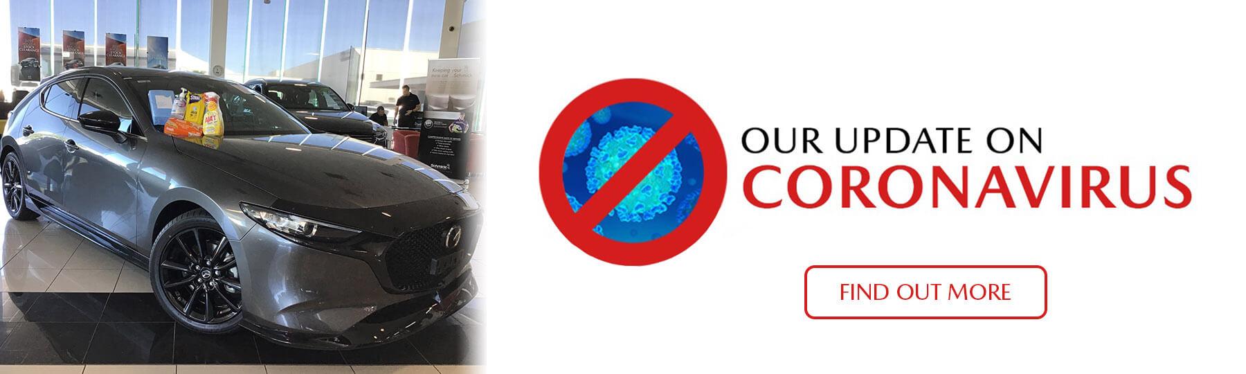 Werribee Mazda Coronavirus Update