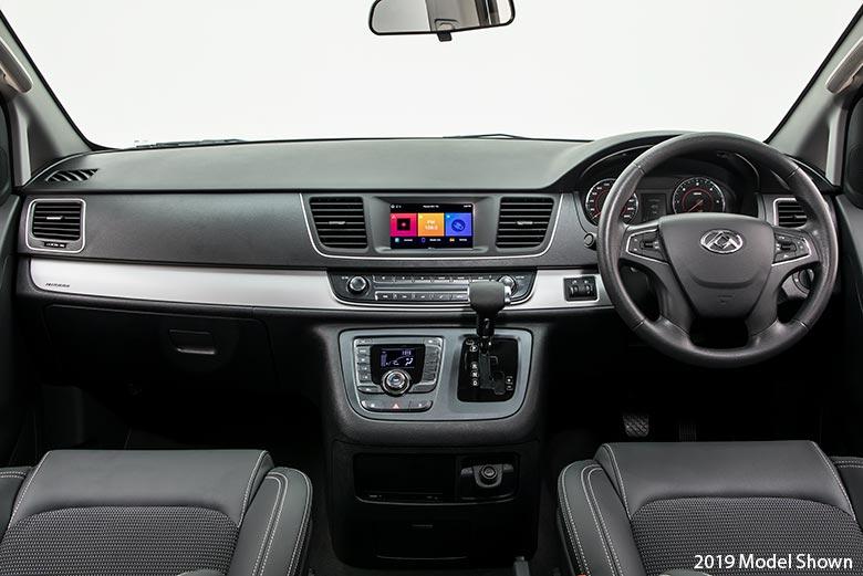 LDV G10 Van Interior