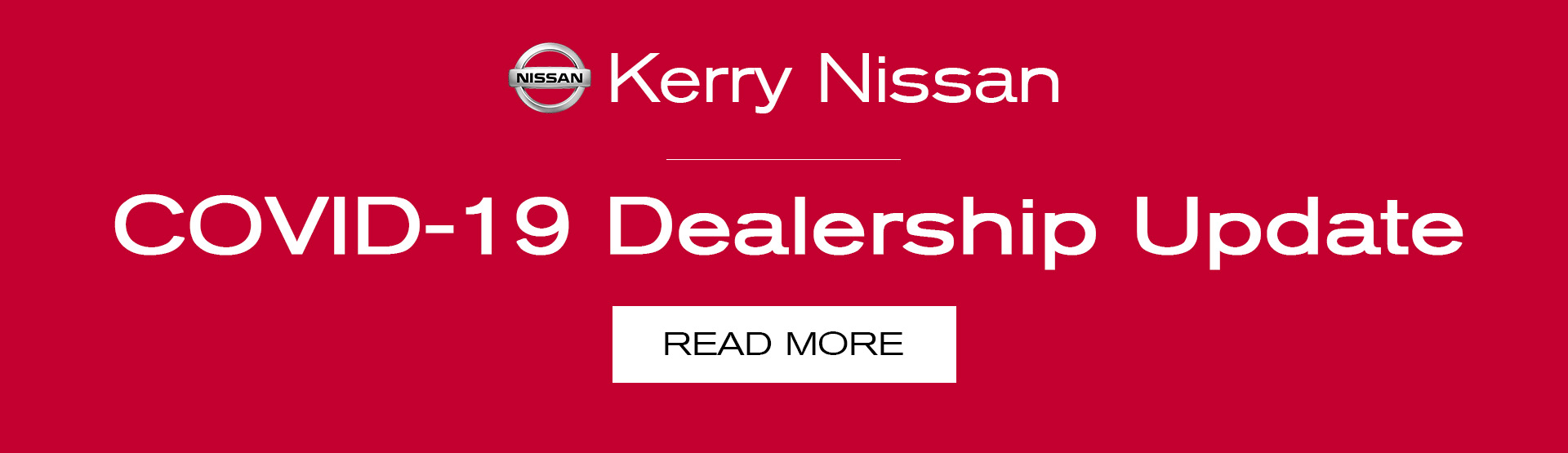 Kerry Nissan COVID19 Statement