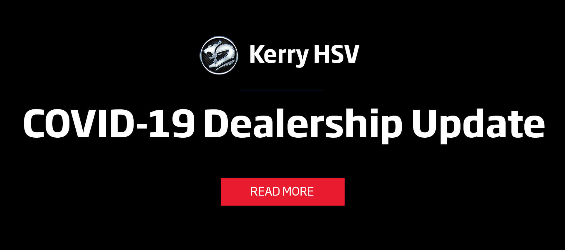 Kerry HSV COVID19 Statement