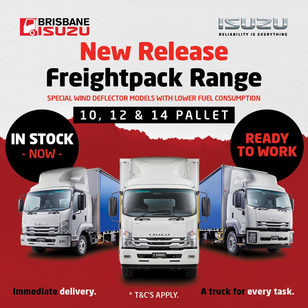 Brisbane Isuzu Freightpack
