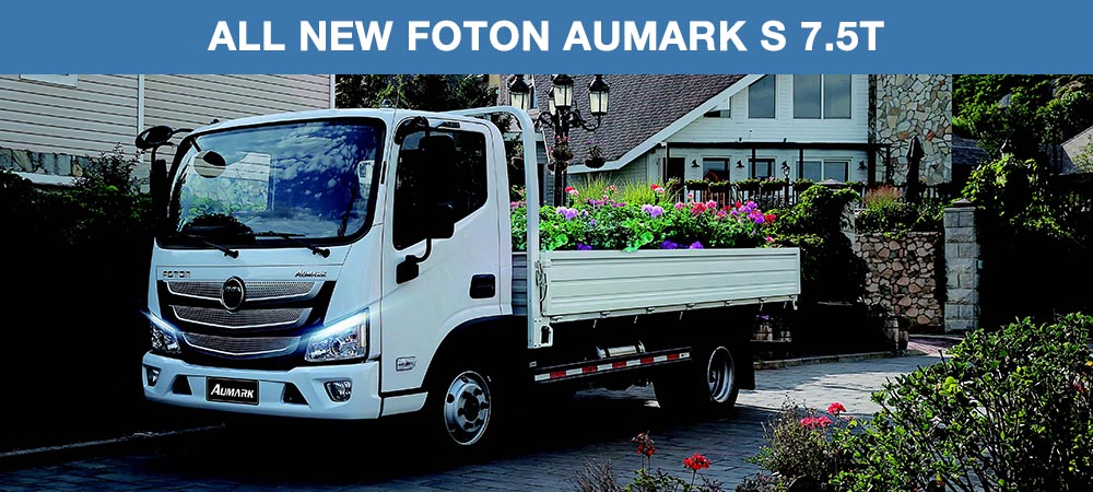 All New Foton Aumark S 7.5T
