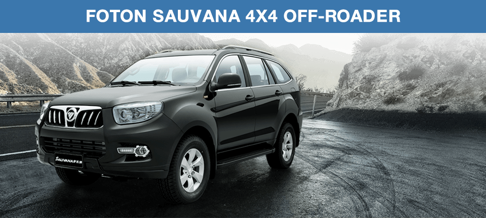 Foton Sauvana 4x4 Off-Roader