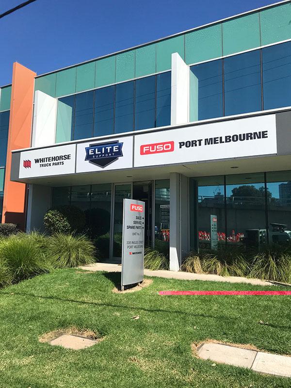 Fuso Port Melbourne Elite Support Front