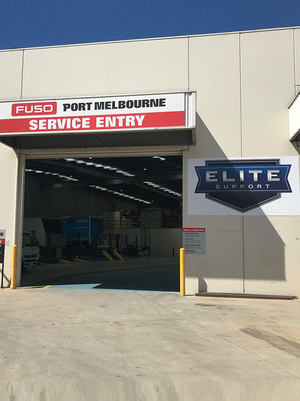 Fuso Port Melbourne Elite Support Service