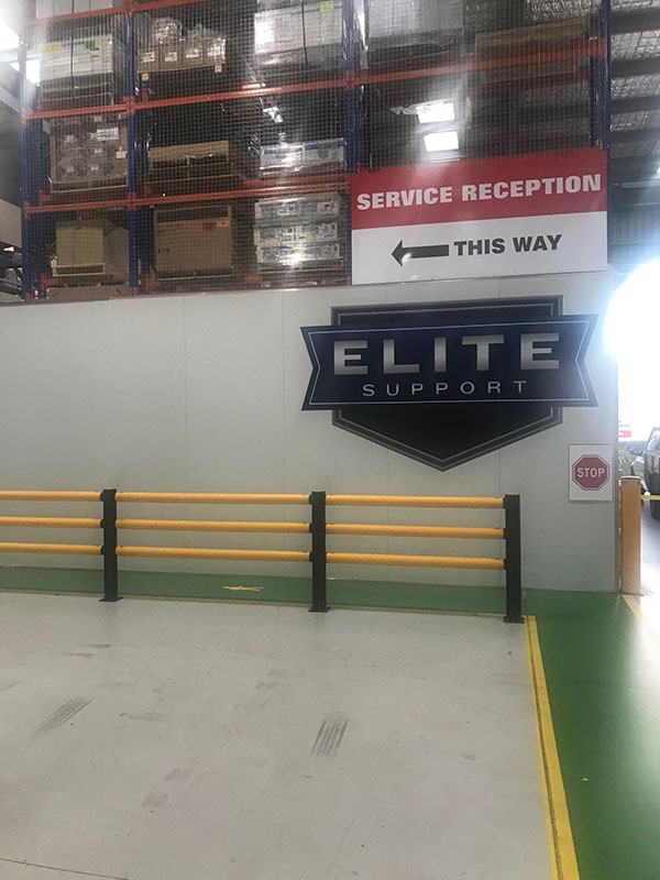 Fuso Port Melbourne Elite Support Service Driveway