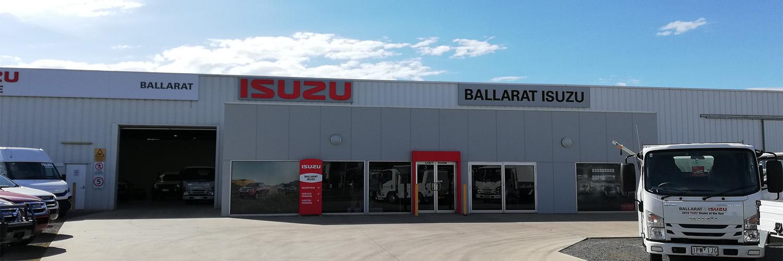 Ballarat Isuzu Contact Us Page Banner