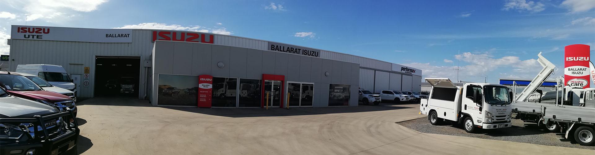 Ballarat Isuzu About Us Banner