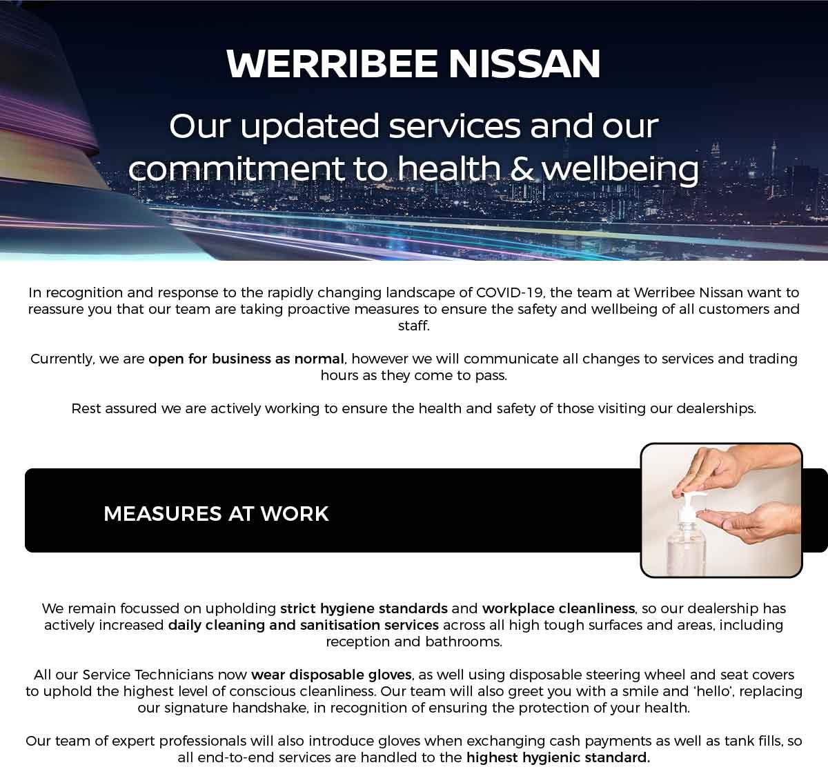 Werribee Nissan Updated Services