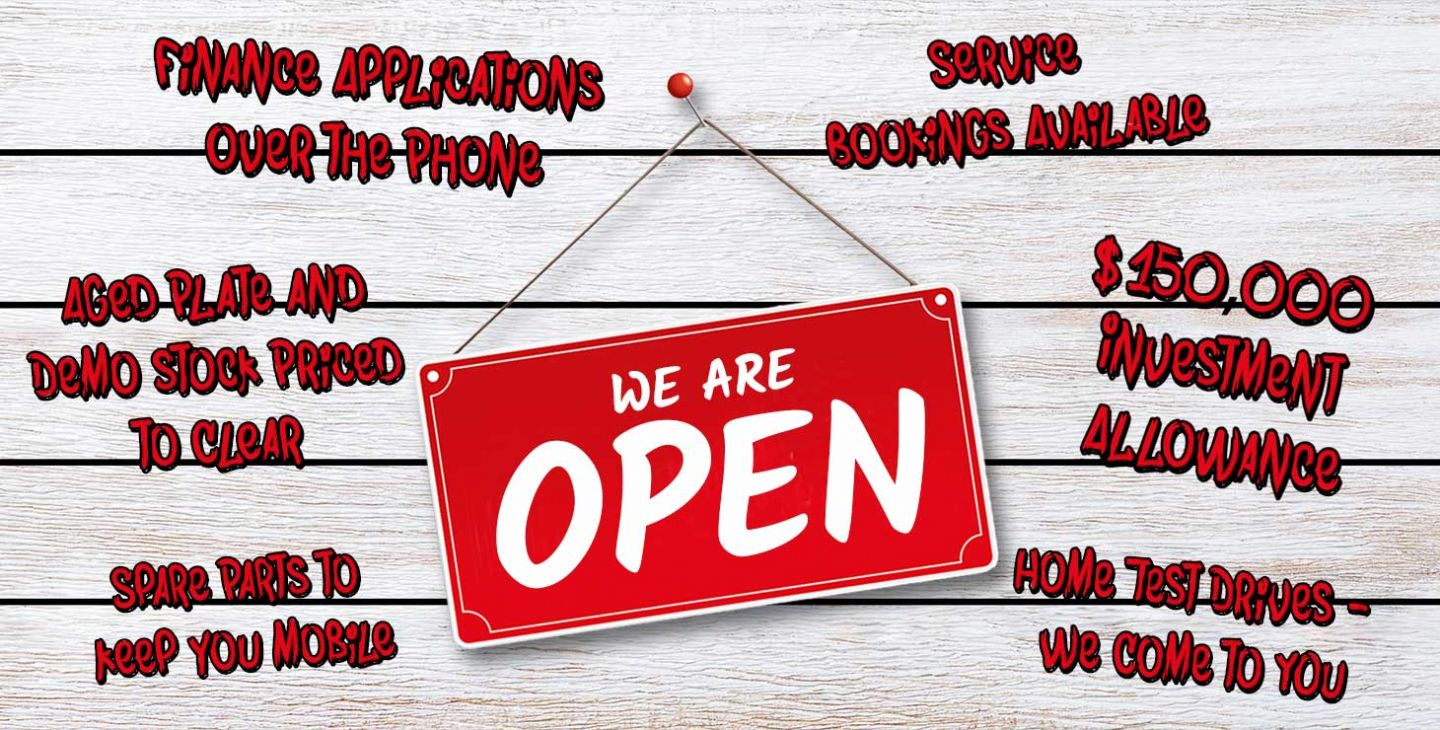 Pacific Ford | We Are Open