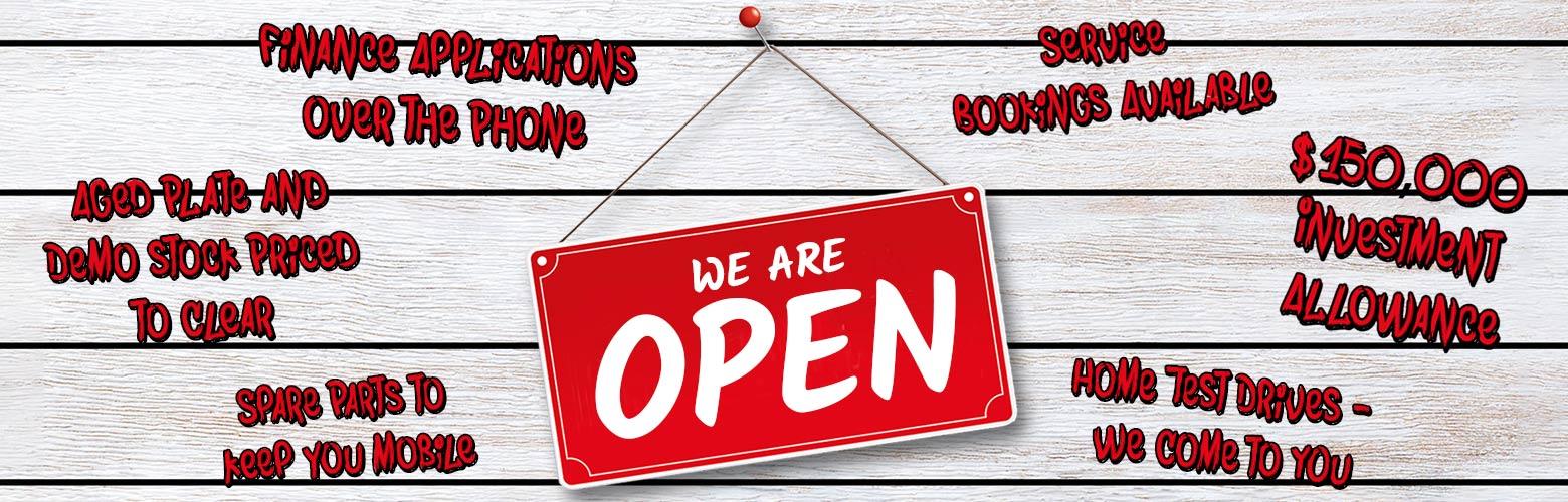 Pacific Kia   We Are Open