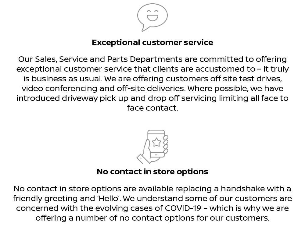 Yarra Valley Nissan COVID-19 Statement