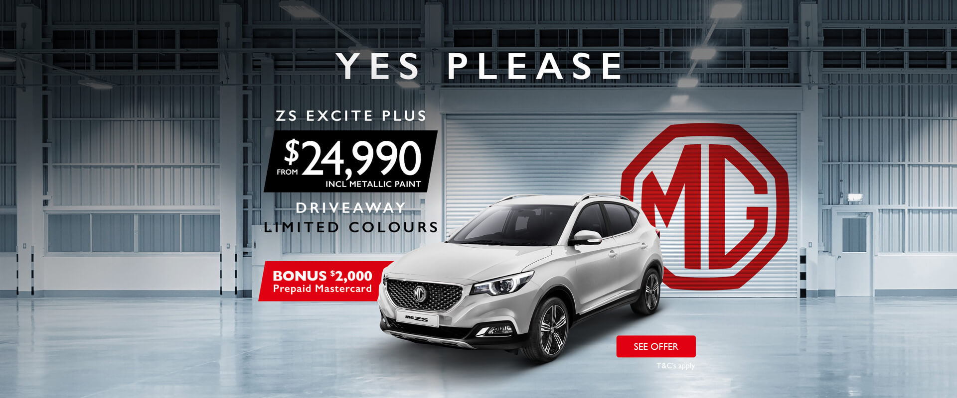 MG ZS Excite Plus - Yes Please