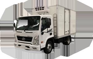 Hyundai Trucks - Freezer Pantech Range