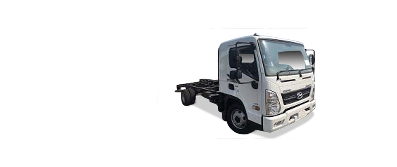 Hyundai Trucks - EX8 CHASSIS
