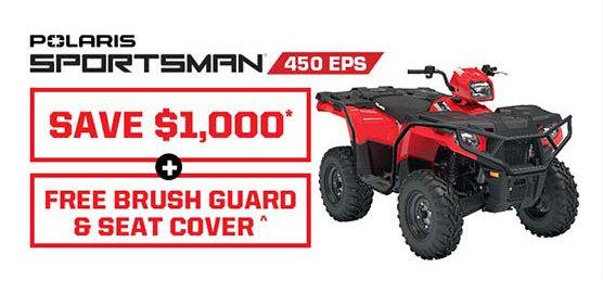 Polaris Sportsman 450 EPS