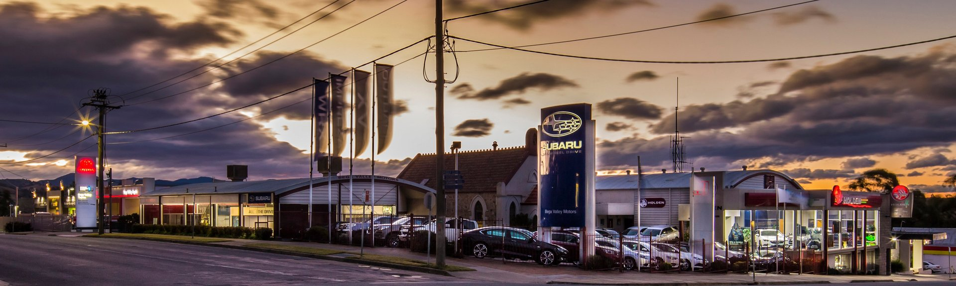 Bega Valley Subaru - Dealership Shot