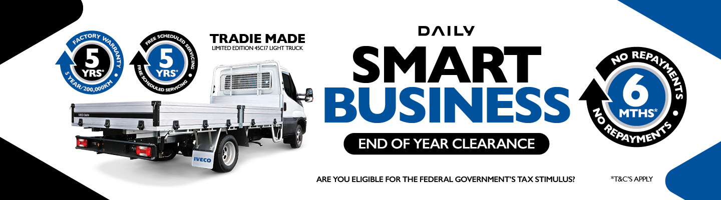 Iveco Smart Business Tradie Made Specials