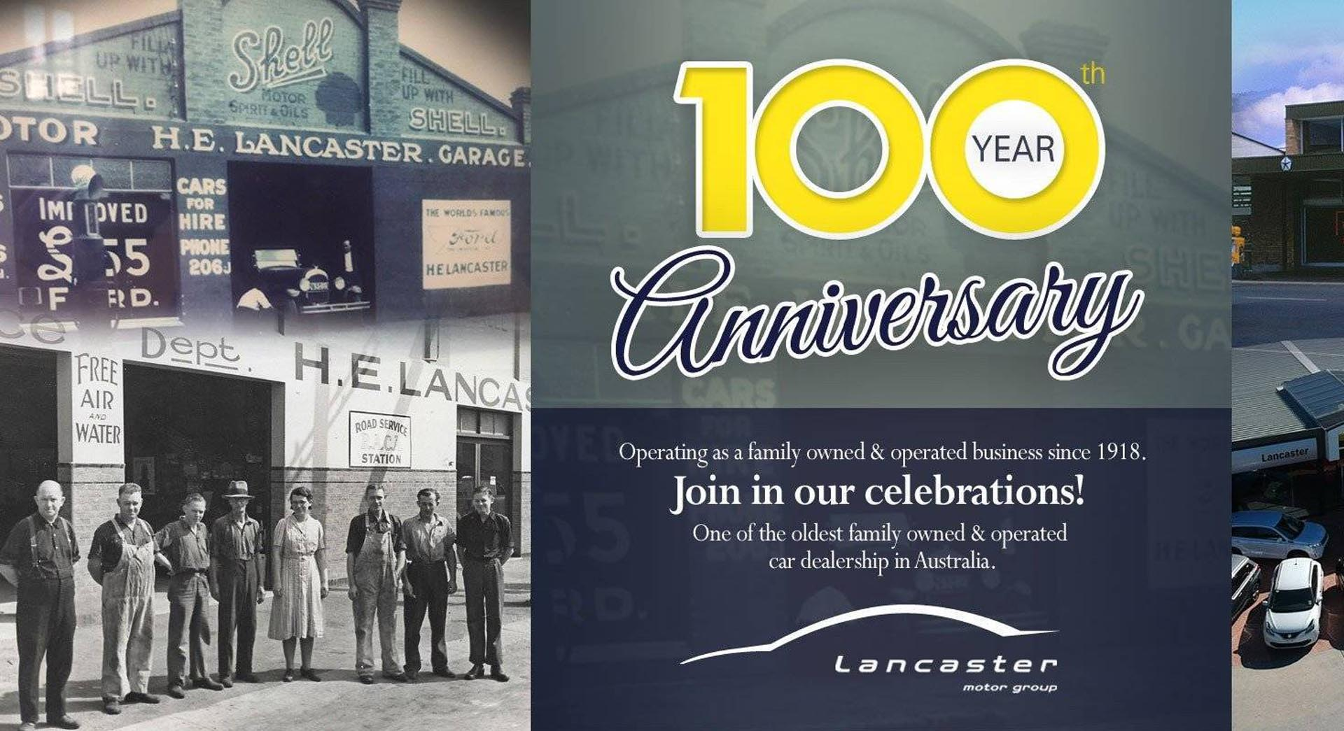 Lancaster Suzuki 100 Years