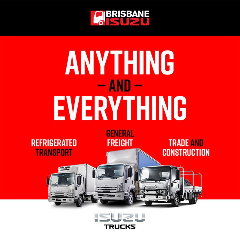 Anything & Everything | Brisbane Isuzu