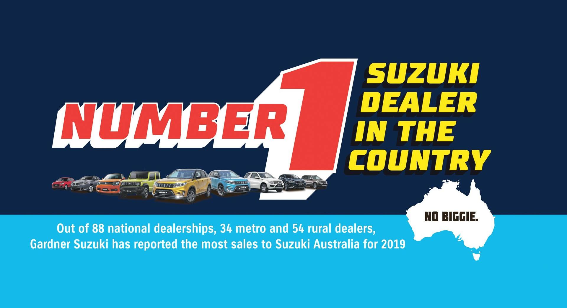 Gardner Suzuki Number 1 Dealer In The Country