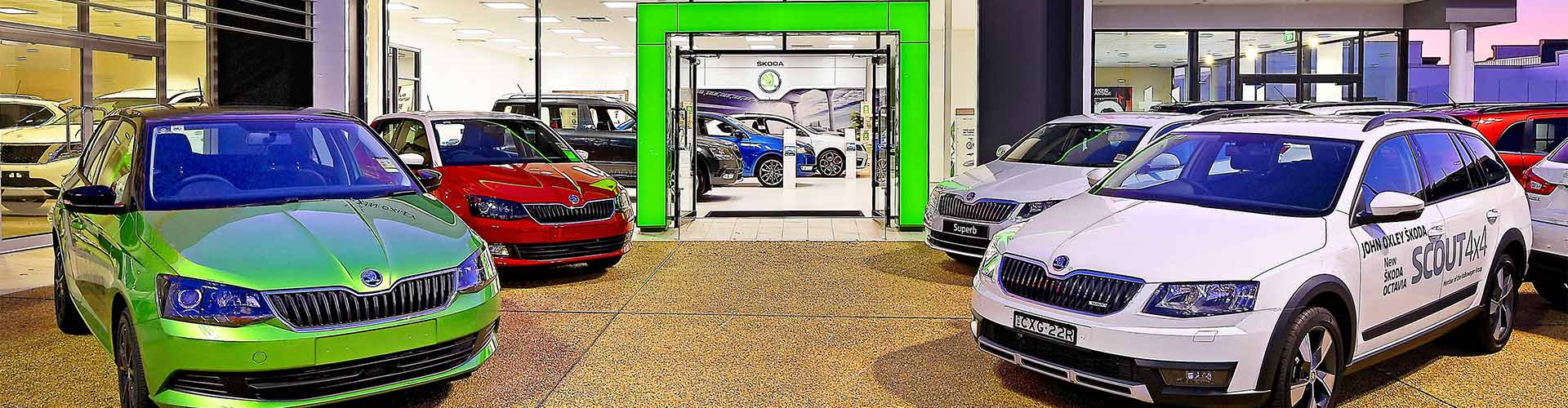 John Oxley Skoda Dealership