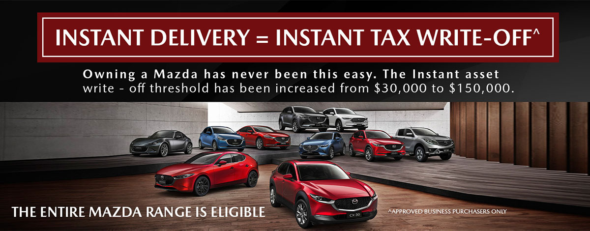 Gosford Mazda - Business Instant Tax Write-off