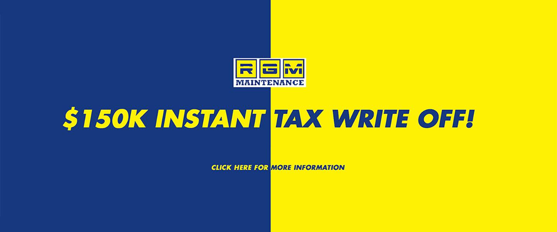 RGM Mercedes Benz - write off tax