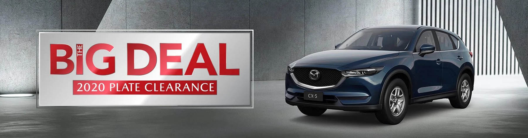 Mazda Special Offers The Big Deal 2020 Plate Clearance