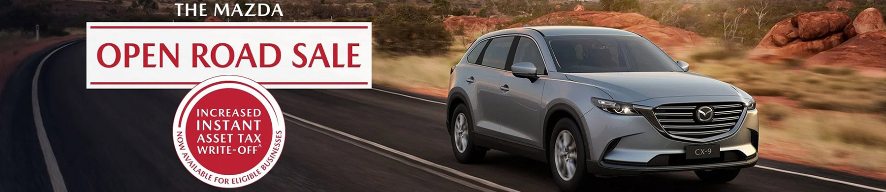 Mazda Special Offers Open Road Sale