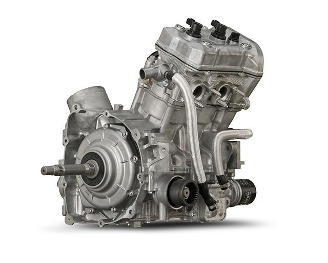 POWERFUL TWIN CYLINDER ENGINE