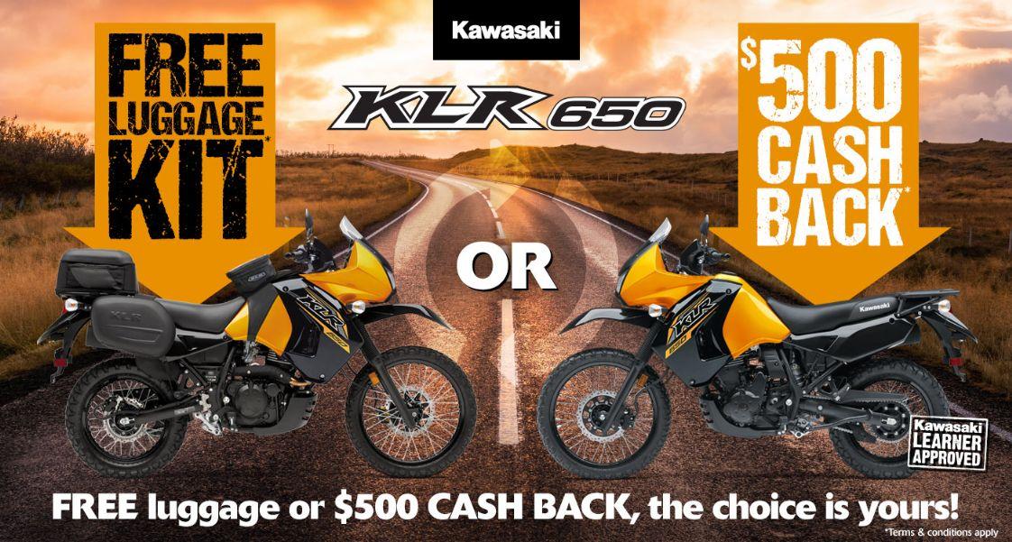 Kawasaki - KLR650 Free Luggage