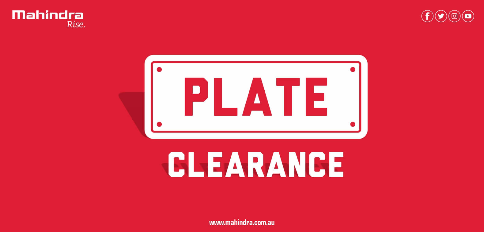 Plate Clearance