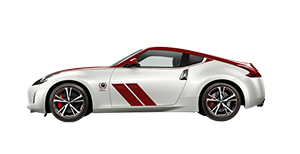 370Z 50TH ANNIVERSARY COUPE (WHITE/RED) MAN