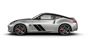 370Z 50TH ANNIVERSARY COUPE (SILVER/BLACK) AUTO