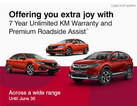 Hurry in for a great deal at Bundaberg Honda