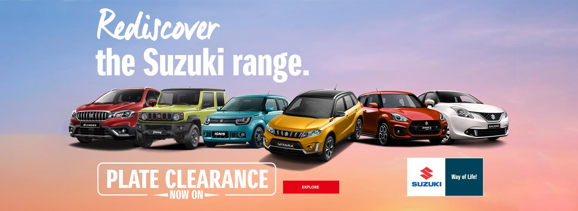 Suzuki QLD- Plate Clearance